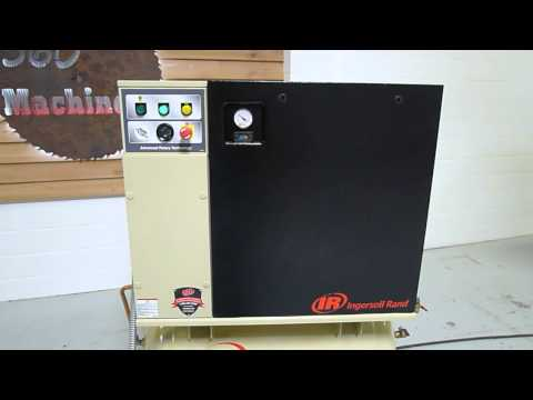 video Ingersoll Rand RS37i-A125 Rotary Screw Air Compressor 50 HP