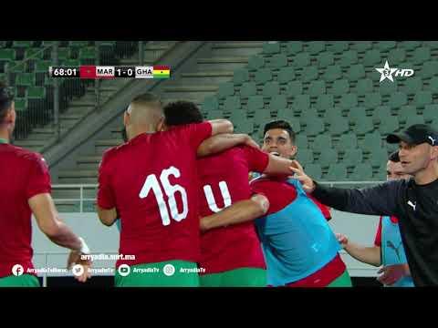 المنتخب المغربي يفوز وديا على نظيره الغاني بهدف لصفر