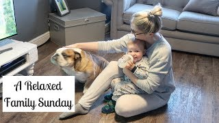 RELAXED WEEKEND ROUTINE OF A MUM | LAID BACK FAMILY DAY VLOG ALTERNATIVE | ELLIE POLLY