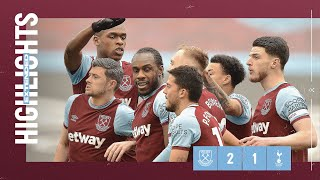 EXTENDED HIGHLIGHTS | WEST HAM UNITED 2-1 TOTTENHAM HOTSPUR
