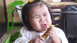 Babies Eating Pickles for the First Time Compilation (2015)