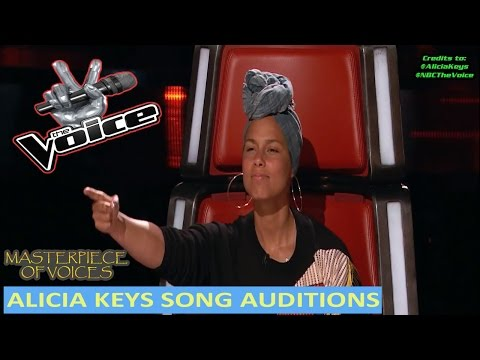 ALICIA KEYS SONG COVER BLIND AUDITIONS IN THE VOICE