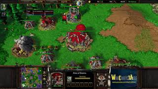 Moon(NE) vs So.in(ORC) - WarCraft 3 Frozen Throne - RN3873