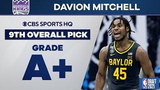 Davion Mitchell Selected No. 9 Overall by the Sacramento Kings | 2021 NBA Draft | CBS Sports HQ