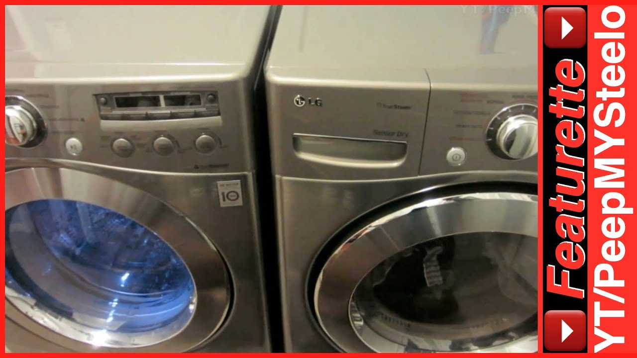 Best Top Loading Washing Machine >> Best LG Washing Machines on Sale in Top Rated Washer & Dryer Combo Front Load Machine Pair Cheap ...