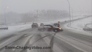 Compilation of Ridiculous Drivers and Slip & Slide Winter Weather - Part 1