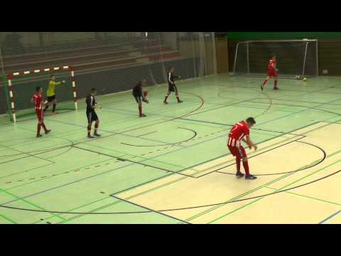 Rahlstedter SC - SV Eichede (U19 A-Jugend, Halbfinale, NFV Futsal-Meisterschaft 2015) - Spielszenen | ELBKICK.TV präsentiert vom NØRHALNE CUP