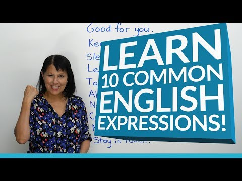 10 Common English Expressions