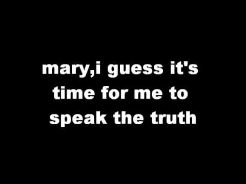 jls mary lyrics on screen