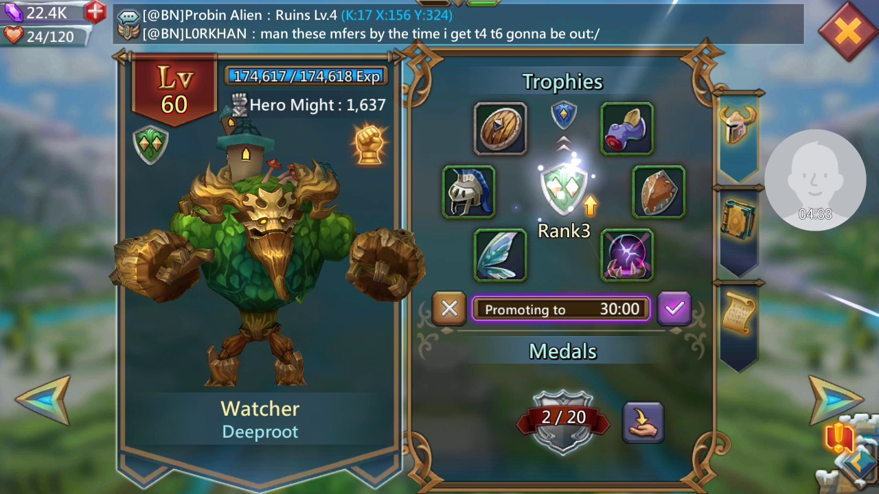 How To Get Watcher In Lords Mobile