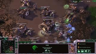 StarCraft II (4v4) Masive BC (online)