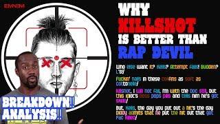 KILLSHOT Lyrics Breakdown | Why it's better than Rap Devil