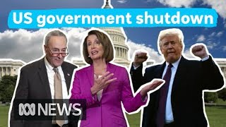 The lowdown on the US government shutdown | What's Going On?