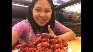 Cuộc Sống Mỹ Vlog 43 ll Đi Ăn Buffet CrawFish Bao Bụng 12$ Quá Rẽ Tại Mỹ