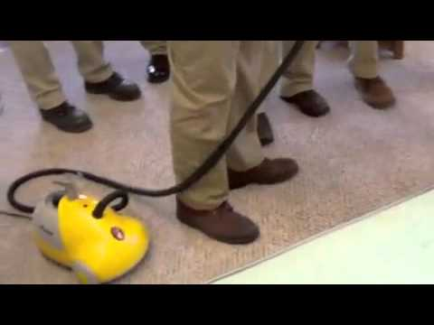 Bedbug Training  Steam Treatment 1