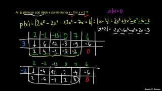 Hornerjev algoritem 3
