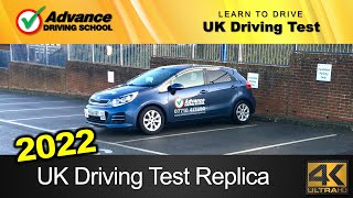 New UK Driving Test Replica (full route with Sat-Nav)