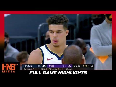 Denver Nuggets vs Phoenix Suns 1.23.21 Full Highlights