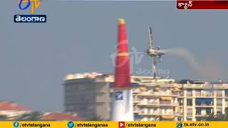 Red Bull Air Race; Thirlling display at Cannes..