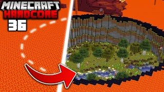 I Transformed the NETHER into the OVERWORLD in Minecraft Hardcore (#36)
