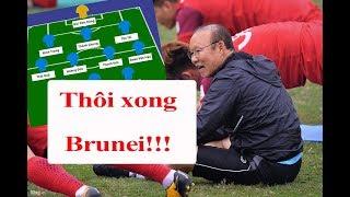 Đội hình U23 Việt Nam đấu U23 Brunei: Thần tốc hai cánh, song sát như mơ | Thể Thao 247