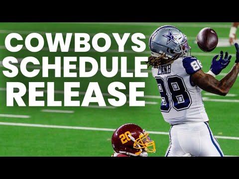 Dallas Cowboys 2021 Schedule Reaction/Record Prediction