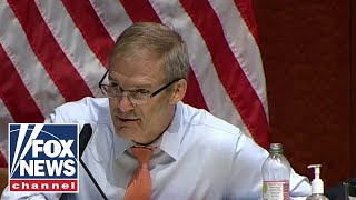 Jim Jordan calls out Obama-Biden DOJ for spying