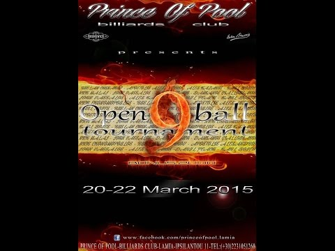 Prince of Pool 9-Ball Open 2015 - Day 3