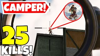 THE MOST ANNOYING CAMPER EVER IN CALL OF DUTY MOBILE BATTLE ROYALE!