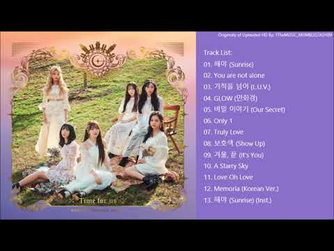 [FULL ALBUM] 여자친구 (GFRIEND) - 2집 GFRIEND The 2nd Album `Time for us`