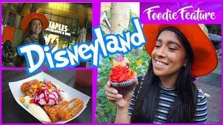 Churro Sundae at Disneyland and Dining at Naples in Downtown Disney!
