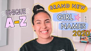 RARE + UNIQUE BABY GIRL NAMES 2020! | Cute A-Z Favorite Baby Names I Love But Won't Be Using!