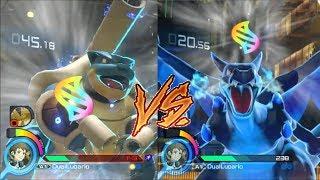 CHARIZARD VS BLASTOISE Pokken Tournament DX Blastoise gameplay #4