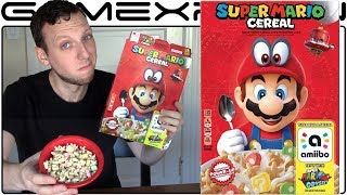 We Try the Super Mario Cereal! - TASTE TEST!
