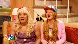 Ew with Jimmy Fallon and Lindsay Lohan (Late Night with Jimmy Fallon)