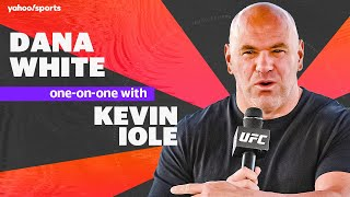 UFC president Dana White talks McGregor Poirier 2, Holloway Kattar and Spencer Fisher story