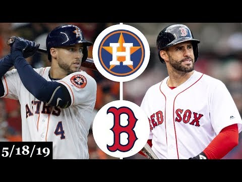 Houston Astros vs Boston Red Sox - Full Game Highlights | May 18, 2019 | 2019 MLB Season