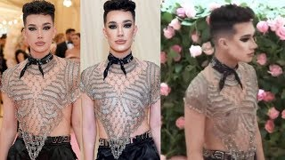 James Charles Was A MESS At The Met Gala