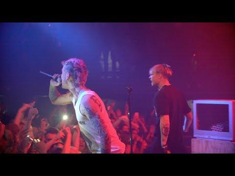 lil peep 'u said' + 'brightside' live in seattle (cowys tour)