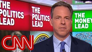 Jake Tapper takes on Giuliani's 'alternate reality'