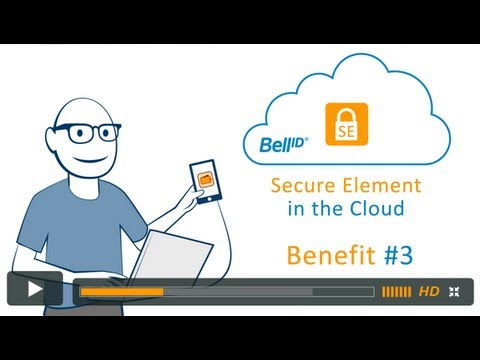 Bell ID® Secure Element in the Cloud Benefit #3