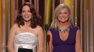 Amy Poehler & Tina Fey - All Golden Globes Moments
