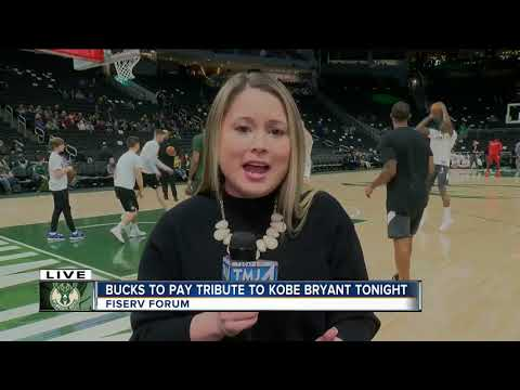 Tributes pour in for Kobe Bryant ahead of Bucks vs Wizards game