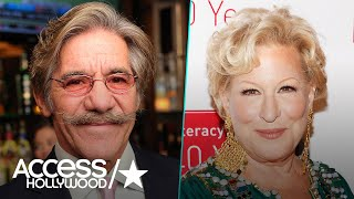 Geraldo Rivera Apologizes For 'Embarrassing' Bette Midler | Access Hollywood