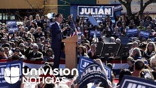 El hispano Julián Castro anuncia su candidatura a la nominación presidencial del partido Demócrata