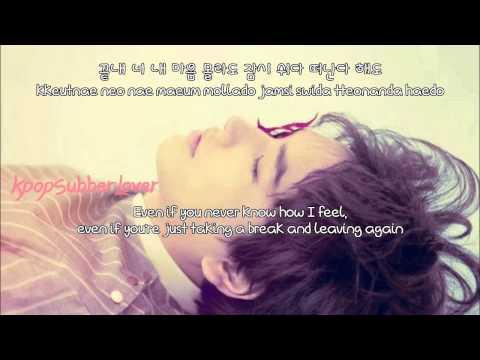 Kyuhyun - One Confession (사랑이 숨긴 말들) [Eng Sub+Romanization+Hangul] HD