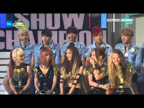 [CUT] 20120821 VIXX Interview @ Music Show Champion