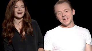 Simon Pegg, Rebecca Ferguson & Chris McQuarrie talk about Mission: Impossible - Rogue Nation