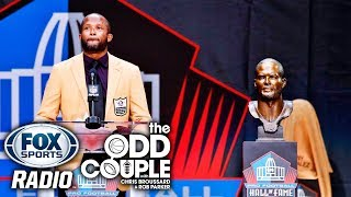 Chris Broussard & Rob Parker on Champ Bailey Speaking Out at the Pro Football Hall of Fame