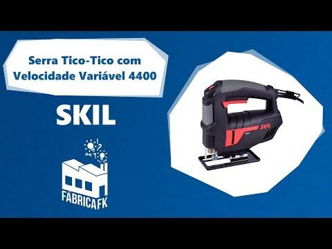 Serra Tico-Tico com Velocidade Variável 400W 4400 Skil -127V - Vídeo explicativo
